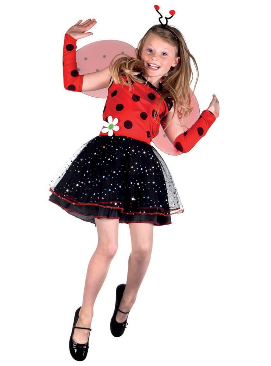 Disfraz de lady mariquita para ni a entrega 24h funidelia - Disfraz de mariquita de nina ...