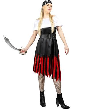 Pirat Maskeraddräkt för henne stor storlek - Kollektion Sjörövare