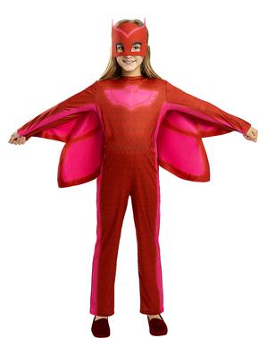 Costum Bufniță pentru fete -  Eroii în pijama (PJ Masks)