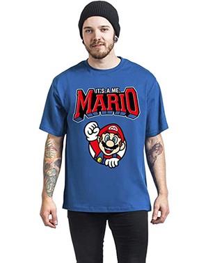 Camiseta Nintendo Super Mario – Varsity