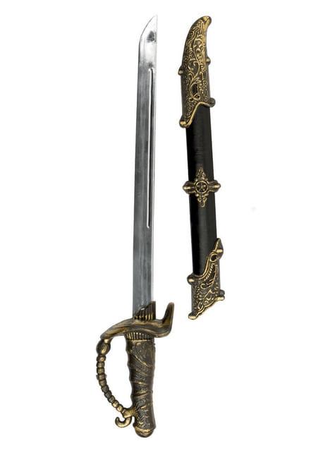 Espada pirata con vaina