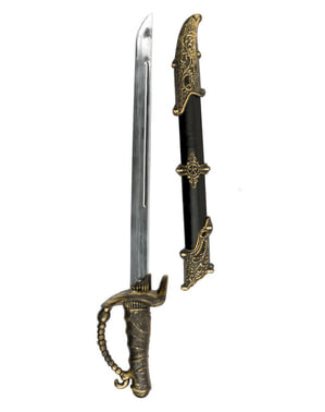 Pirate Sword with Scabbard