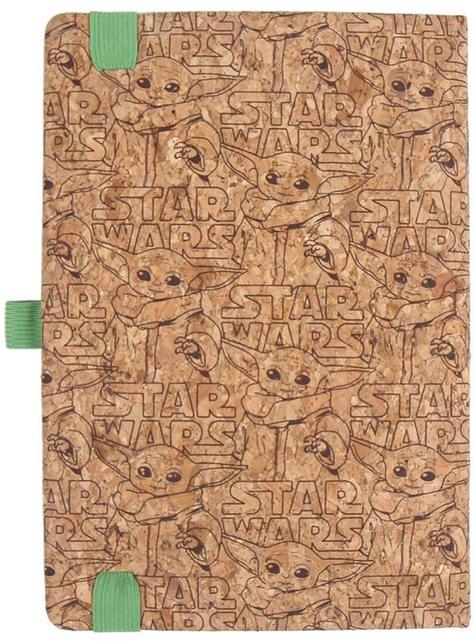 Baby Yoda The Mandalorian Notebook and Pen - Star Wars