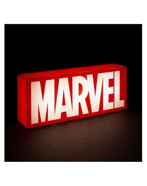 Lampa s logem Marvel