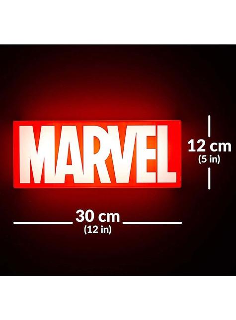 Lámpara Marvel logo
