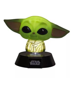Baby Yoda Icoon The Mandalorian Lamp - Star Wars