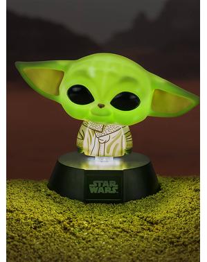 Baby Yoda Kuvake Mandalorialainen Lamppu - Star Wars