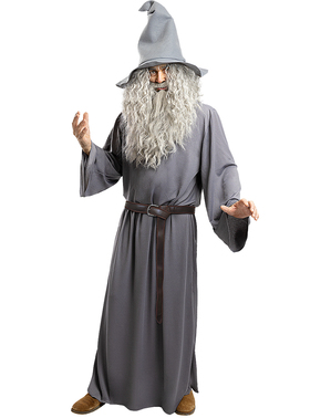 Gandalf Wig with Beard - Lord of the Rings