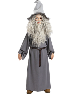 Gandalf Wig with Beard for Kids - Lord of the Rings