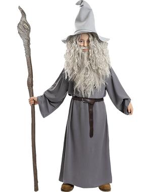 Fato de Gandalf para Menino - O Senhor dos Anéis