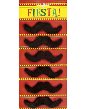 Set 6 baffi messicani per uomo