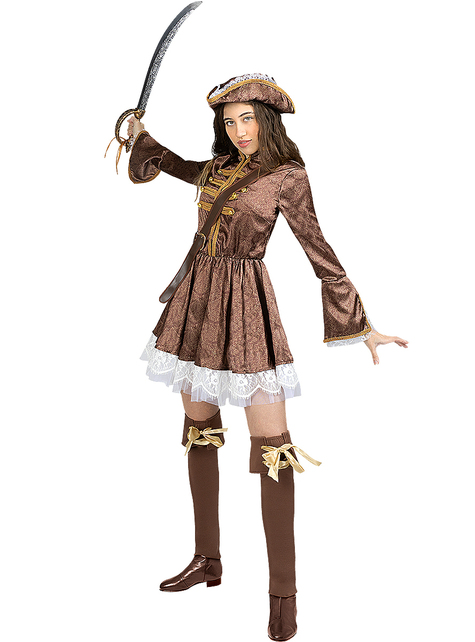 Colonial Pirate Costume for Women