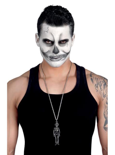 Collar de esqueleto mexicano para mujer - original