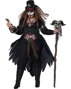 Voodoo Meisterin Kostüm für Damen