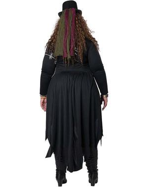 Disfraz maestro Vudú para mujer talla grande