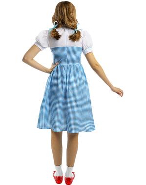 Dorothy Kostume Plus Størrelse - Troldmanden fra Oz