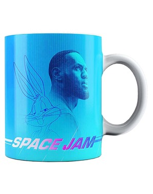 Caneca Lebron James Space Jam - Looney Tunes
