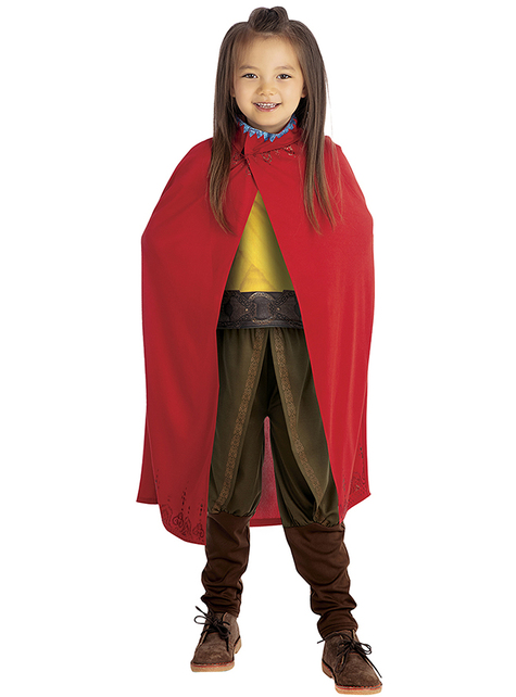 Deluxe Raya Costume for Girls - Raya and The Last Dragon