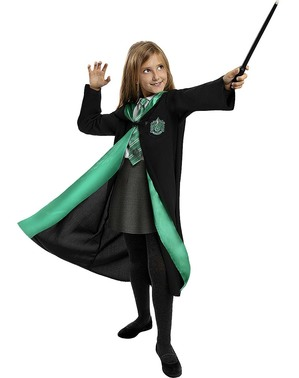 Costum Harry Potter Slytherin pentru copii