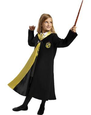 Harry Potter Hufflepuff Kostume til Børn