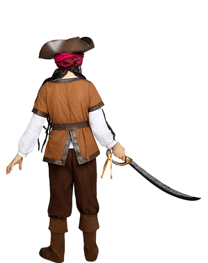 Pirat Kostume til Drenge - Caribisk Samling