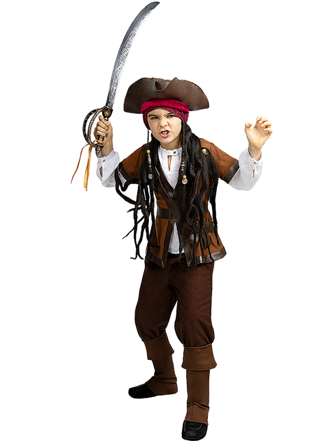 Pirate Costume for Boys - Caribbean Collection