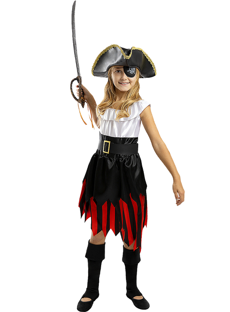 Pirate Costume for Girls - Buccaneer Collection