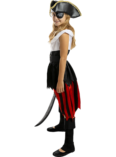 Disfraz de pirata para niña - Colección bucanero