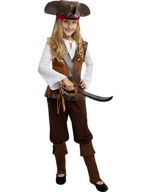 Pirat Kostyme til Jenter - Karibisk Kolleksjon