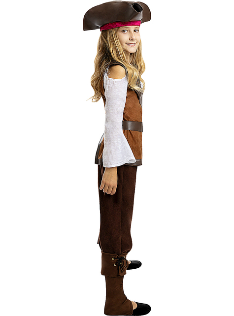 Pirate Costume for Girls - Caribbean Collection