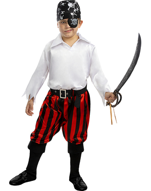Costume da pirata per bambino - Collezione bucaniere