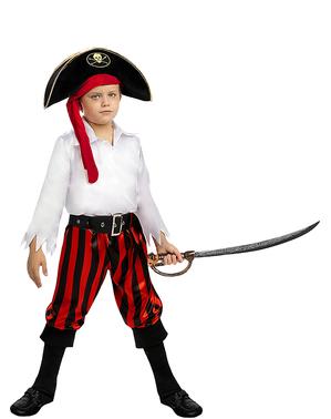 Pirat Kostyme til Gutter - Buccaneer Kolleksjon