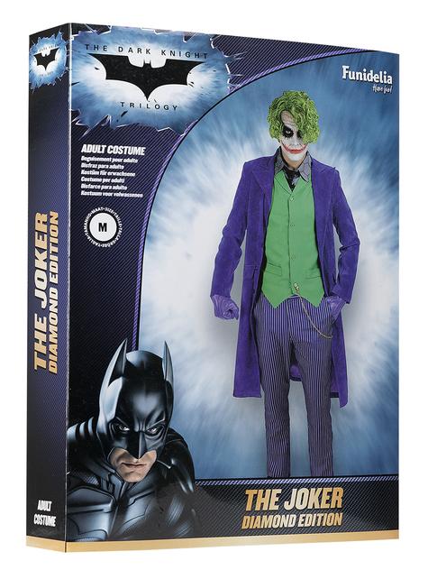 Disfraz de Joker El Caballero Oscuro - Diamond Edition