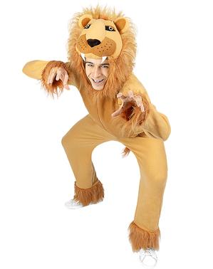 Костюм на лъв за възрастни