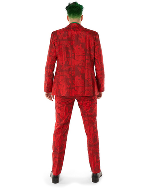 Costum de Joker Roșu - Suitmeister