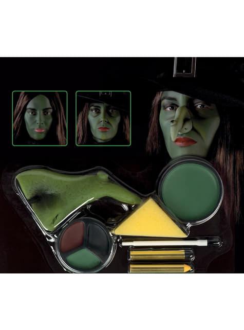 Kit de maquilhagem de bruxa