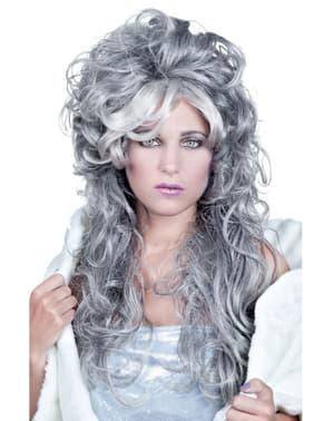 Peluca de fantasma de hielo para mujer