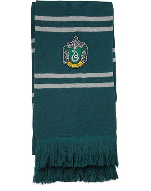 Deluxe Slytherin Scarf- Harry Potter