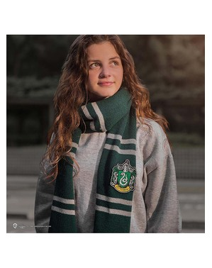 Deluxe šála Zmijozel - Harry Potter