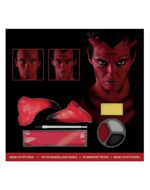 Kit de maquilhagem de demónio
