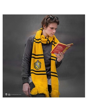 Deluxe Hufflepuff Tørklæde - Harry Potter