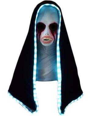 Świecąca maska z kapturem Zakonnica Noc Oczyszczenia The Purge