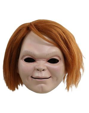 Chucky Maske mit Narben - Curse of Chucky