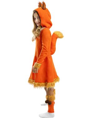 Costum de vulpe pentru fete