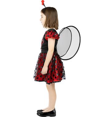 Costume da coccinella per bambina