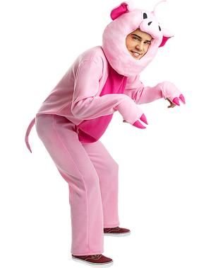Costum de porc pentru adulți