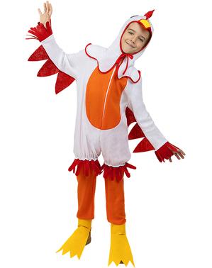 Disfraz de Gallina para niños