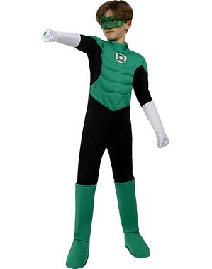 Disfraz Linterna Verde para niño