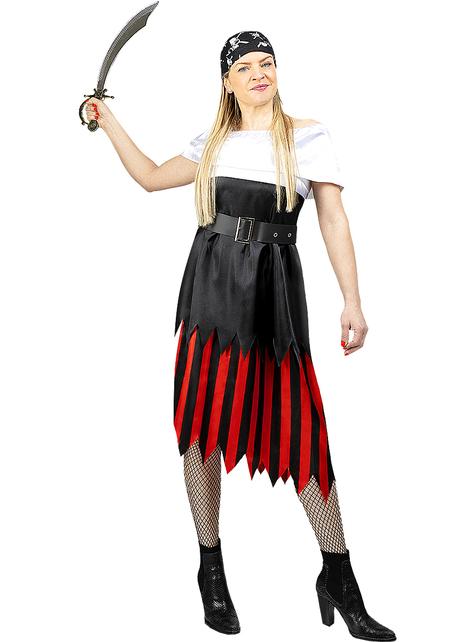 Disfraz de pirata para mujer- Colección bucanero