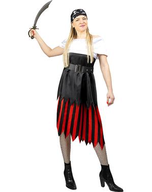 Fato de pirata para mulher - Coleção bucaneiro